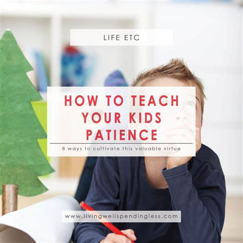 teaching patience to preschoolers how to teach your patience living well spending less 174 941