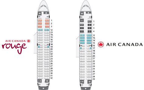siege avion air air canada vs air canada