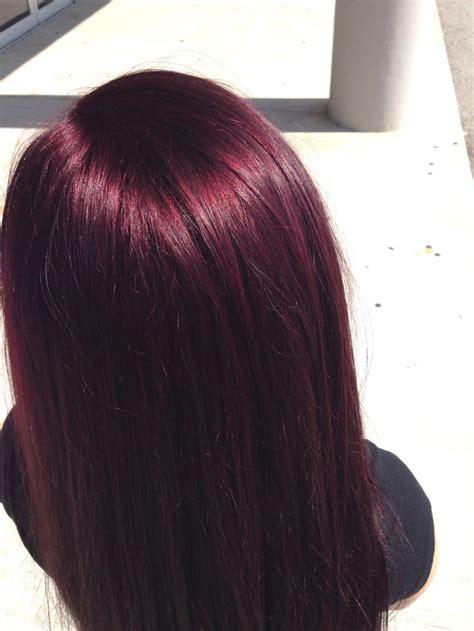 Best 25 Deep Burgundy Hair Color Ideas On Pinterest