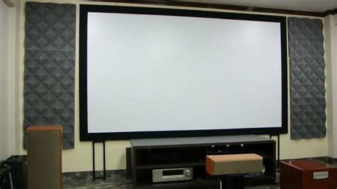 diy fix projector screen  laminate sheet material