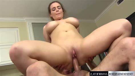 Sloppy Stepsis Getting Her Cunt Slammed