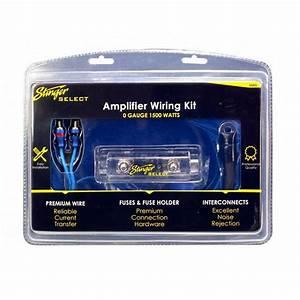 Stinger Select Ssk0 Car Audio 1  0 Gauge Amplifier Install