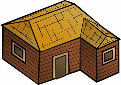 Clip Wooden Clipart Vector Wood Domain Hut