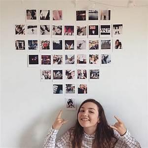 Mur Photo Polaroid Diy D Coration Facile Mur De Polaroid