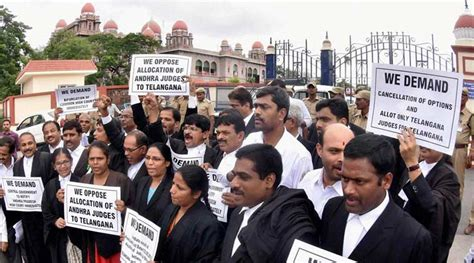 Telangana: 8,000 judicial employees go on strike now ...