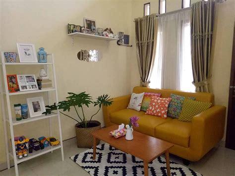 dekorasi ruang tamu kecil desain rumah minimalis