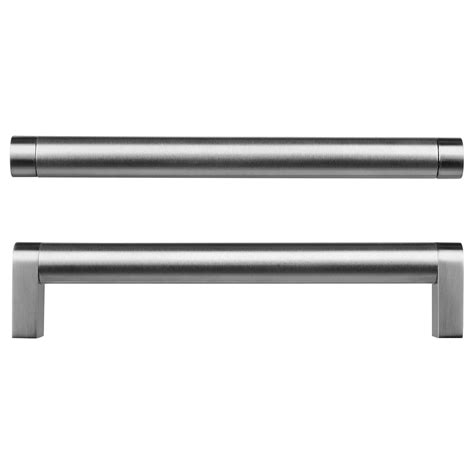 ikea kitchen cabinet knobs orrn 196 s handle stainless steel stainless steel color 4476