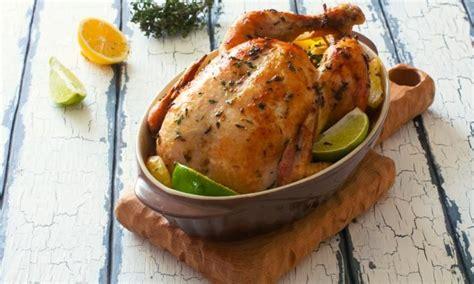 cuisiner un poulet entier poulet rôti miel et citron la meilleure façon de cuire