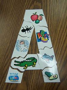 Letter puzzles for flannel board kindergarten for Flannel board letters