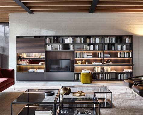 molteni c 505 bookshelves and multimedia molteni c