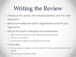 Writing For History The Book Review Youtube