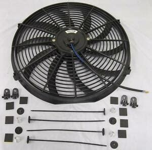 Curved Blade Electric Radiator Cooling Fan