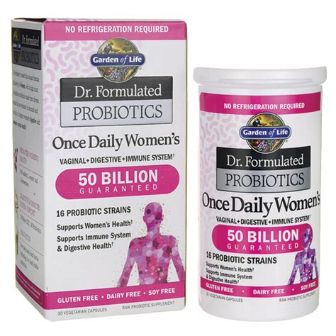 garden of s probiotic garden of dr formulated probiotics once daily