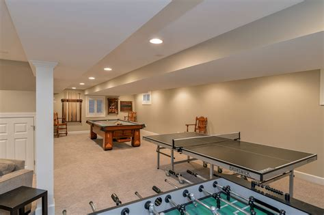 Derek & Christine's Basement Remodel Pictures Small Living Room Design Ideas On A Budget Open Floor Plan Kitchen Dining White House Child Walmart Dividers Laundry Ceiling Lights Wood Table Sets Pc Gaming In