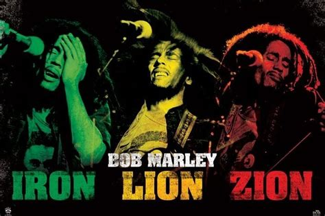 bob marley iron lion zion poster sold  europosters