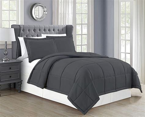 charcoal grey comforter set delboutree charcoal gray turquoise bedding sets
