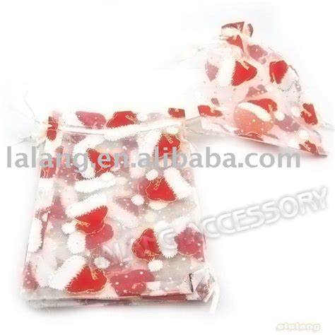 new organza gift bags christmas favour pouches 13x18cm