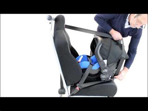 siege auto britax class plus crash test class plus installing the seat rearward facing