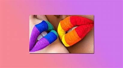 Pride Looks Makeup Rainbow Wearing Month Round
