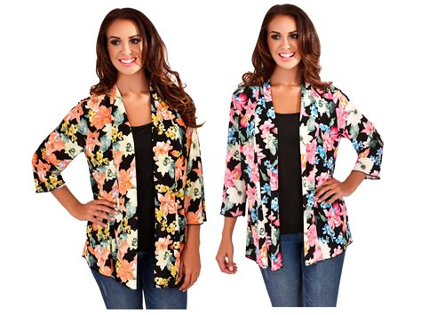 Womens Kimono Boho Cardigan Cape Floral Summer Jacket Shirt Blouse Top Ladies