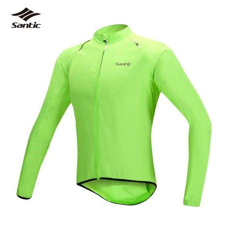 waterproof cycle wear santic waterproof cycling jersey long sleeve maillot ropa