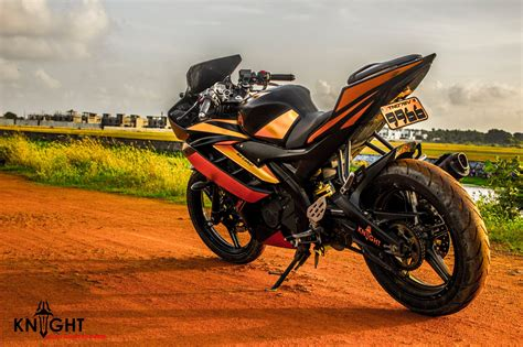 R15 Bike Modified by Mega Photo Gallery Modified Yamaha R15 Maxabout News