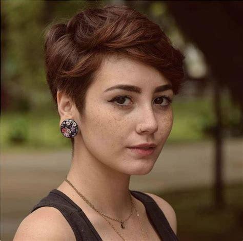 female haircut   thick hair styles short hair styles pixie