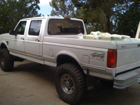 lifted 7.3 diesel psd f250 f350 ford pickup crew cab short