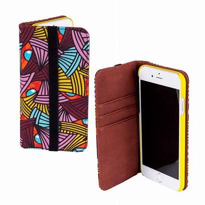 Iphone Flap Case Coquelicots 6s Iwallet Wallet