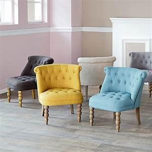 Fauteuil Crapaud Bleu Canard : chanteloup fauteuils jaune et alin a ~ Teatrodelosmanantiales.com Idées de Décoration