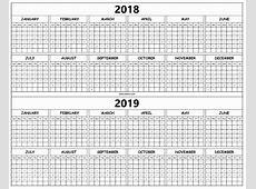 3+ Free 20182019 Printable Calendar PDF August 2019