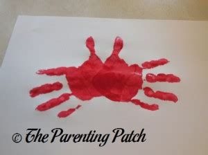 C Is For Crab Handprint Craft  Parenting Patch