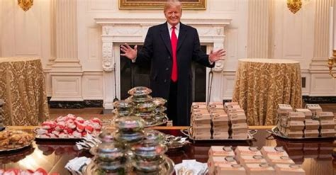 Image result for trump whitehouse cheeseburgers
