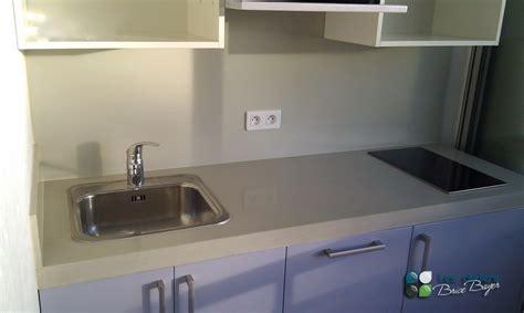 beton cir pour plan de travail cuisine comptoir de