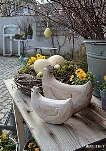 Ideen Zu Ostern : nat rliche osterdekoration osterdeko im garten deko mit ~ A.2002-acura-tl-radio.info Haus und Dekorationen