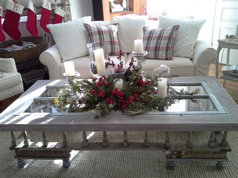 holiday idea for coffee table holiday decorating pinterest