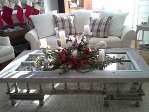 Holiday idea for coffee table holiday decorating pinterest for Ideas for decorating coffee table for christmas
