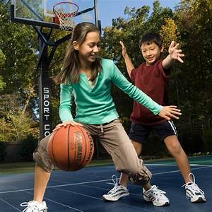Pics For > Little Kids Playing Basketball Outside