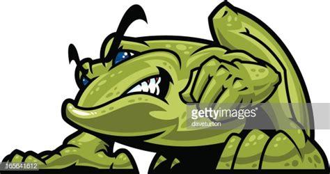 Bullfrog Mascot Vector Art