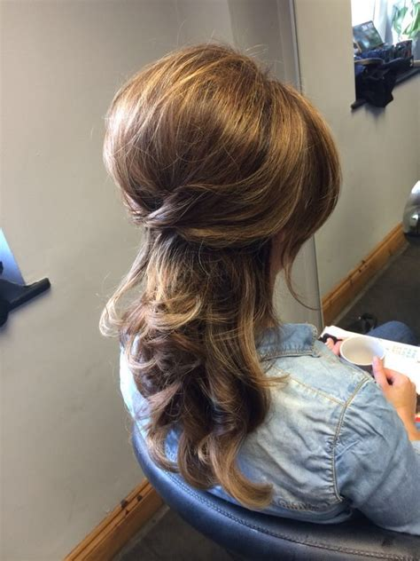 big curly blowdry lots   combing   relaxed beehive kopper hair glanmire cork