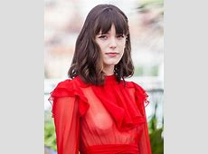 Cannes flash festival Actress goes braless in seethrough