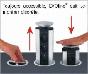 Prise Escamotable Plan De Travail : homeinox prise escamotable inox avec clairage ~ Dailycaller-alerts.com Idées de Décoration