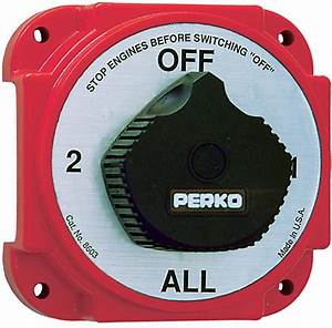 Perko Battery Switch 8501 Instructions