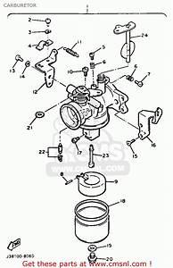 Yamaha G9-ah Golf Buggy 1992 Carburetor