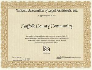 Paralegal certificate nala paralegal certificate for Legal document assistant courses