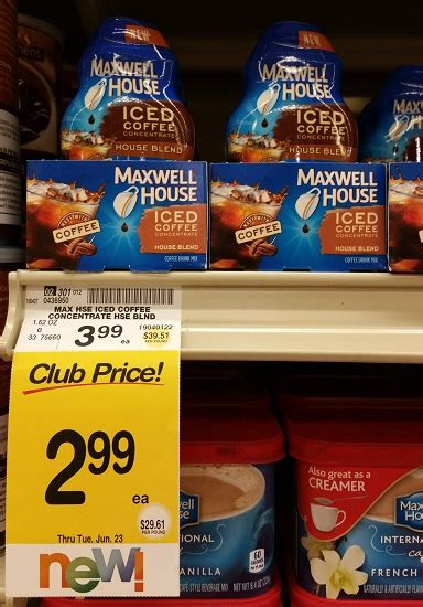Today we take a first taste with maxwell house's iced coffee concentrate. Safeway In Store Deals - Horizon Mac & Cheese, Challenge ...