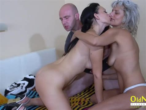 Oldnanny Threesome Mature Sex With Two Ladies Free Porn