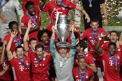 FC Bayern Munich UEFA Champions League 2020 Wallpapers ...