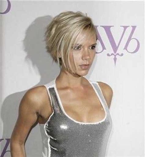 victoria beckham short blonde hair short hairstyles