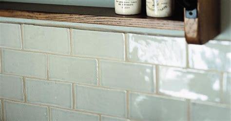 handmade subway tiles in trending pastel blue
